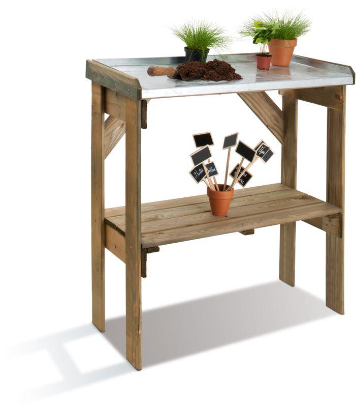 table de rempotage ferme de sainte marthe. Black Bedroom Furniture Sets. Home Design Ideas