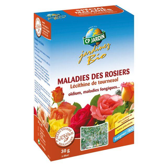MALADIES DES ROSIERS (Lécithine de tournesol)