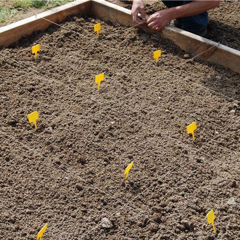 le carr potager une autre fa on de cultiver son potager ferme de sainte marthe. Black Bedroom Furniture Sets. Home Design Ideas